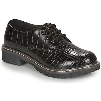 Chaussures Femme Derbies André NEBULEUSE Noir motif
