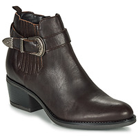 Chaussures Femme Bottines André MADAISY Marron