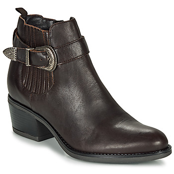 Chaussures Femme Bottines André MADAISY Marron