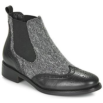 Chaussures Femme Boots André EGLANTONE Noir