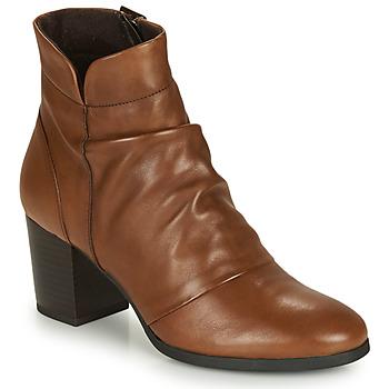 Chaussures Femme Bottines André EBENE Marron