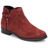 Chaussures Femme Boots André MILOU Rouge