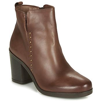 Chaussures Femme Bottines André NOURA Marron