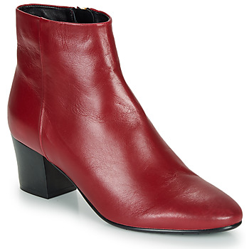 Chaussures Femme Bottines André FAME Rouge