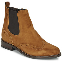 Chaussures Femme Boots André ECLUSINE Camel