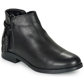 Chaussures Femme Bottines André MILOU Noir