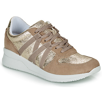 Chaussures Femme Baskets basses André ALLURE Or