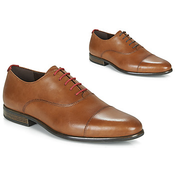 Chaussures Homme Richelieu André WILEXA Cognac