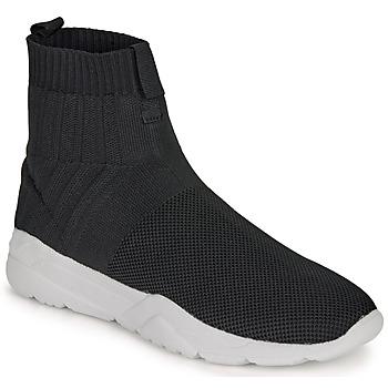 Chaussures Homme Baskets montantes André LUNAIRE Noir