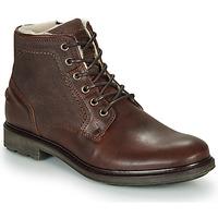 Chaussures Homme Boots André TIGNES Marron