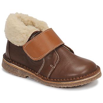 Chaussures Garçon Boots André FLO Marron