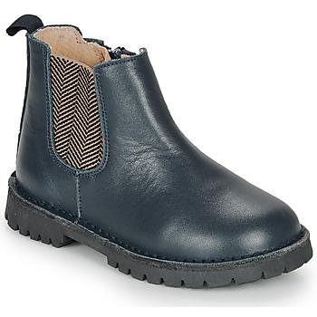 Chaussures Garçon Boots André XAVIER Marine