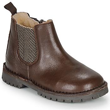 Chaussures Garçon Boots André XAVIER Marron