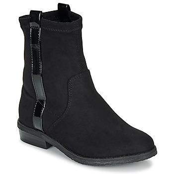 Chaussures Fille Boots André AIMIE Noir