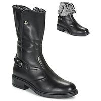 Chaussures Fille Bottes ville André MOSCOU Noir