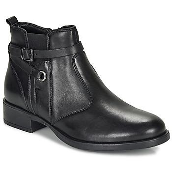 Chaussures Fille Boots André MATHI Noir