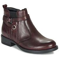 Chaussures Fille Boots André MATHI Bordeaux