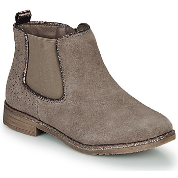 Chaussures Fille Boots André CIARA Beige