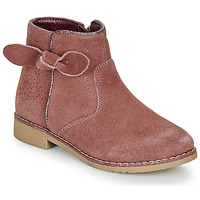 Chaussures Fille Boots André MALYA Rose
