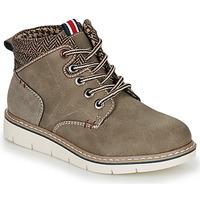 Chaussures Garçon Boots André GIL Kaki