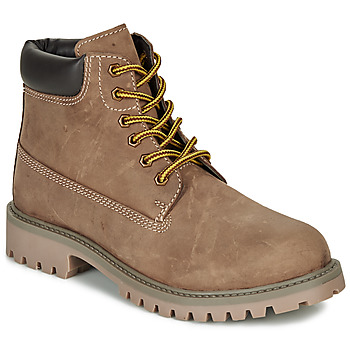 Chaussures Garçon Boots André CHAMOIS Marron