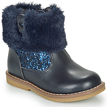 Chaussures Fille Boots André ADELA Marine