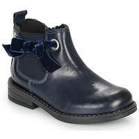 Chaussures Fille Boots André VAL Marine