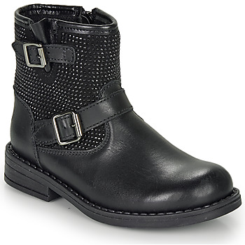 Chaussures Fille Boots André CYDRINE Noir