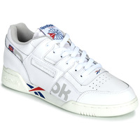 Chaussures Baskets basses Reebok Classic WORKOUT PLUS MU Blanc / Bleu / Rouge