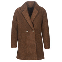 Vêtements Femme Manteaux Only ONLNINA Marron