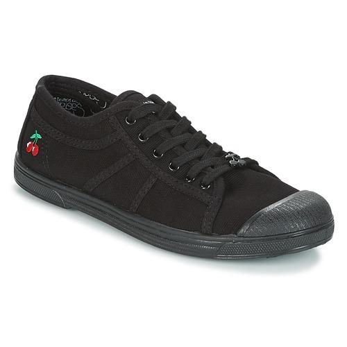 Chaussures Femme Baskets basses Le Temps des Cerises BASIC 02 MONO Noir