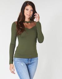 Vêtements Femme Tops / Blouses Moony Mood LAMELI Kaki