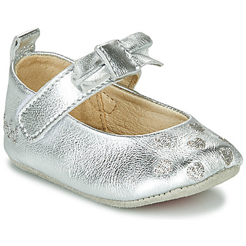 Chaussures Fille Chaussons Catimini CORIDA Argenté