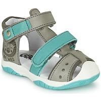 Chaussures Garçon Sandales et Nu-pieds GBB EUZAK Gris / Bleu