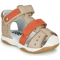 Chaussures Garçon Sandales et Nu-pieds GBB EUZAK Beige / Orange