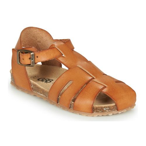 Chaussures Garçon Sandales et Nu-pieds GBB FREDERICO Cognac