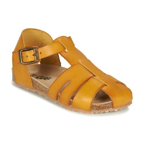 Chaussures Garçon Sandales et Nu-pieds GBB FREDERICO Moutarde