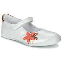 Chaussures Fille Ballerines / babies GBB EMILIETTE Blanc