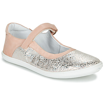 Chaussures Fille Ballerines / babies GBB PLACIDA Rose