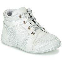Chaussures Fille Baskets montantes GBB OMANE Gris / Blanc