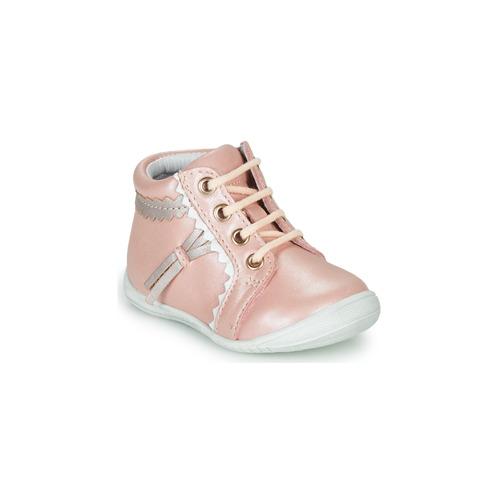 Chaussures Fille Baskets montantes GBB ACINTA Rose