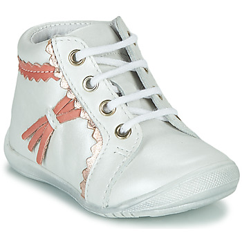 Chaussures Fille Boots GBB ACINTA Blanc