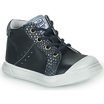 Chaussures Fille Baskets montantes GBB AGAPE Bleu