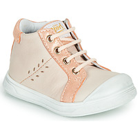 Chaussures Fille Baskets montantes GBB AGAPE Beige