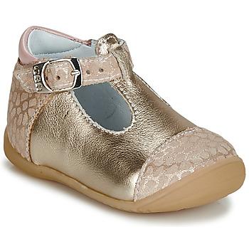 Chaussures Fille Ballerines / babies GBB MERTONE Beige