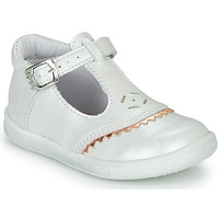 Chaussures Fille Ballerines / babies GBB AGENOR Blanc