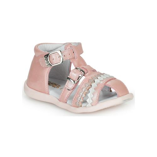 Chaussures Fille Sandales et Nu-pieds GBB ALIDA Rose