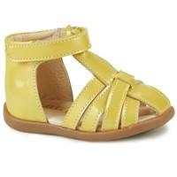 Chaussures Fille Sandales et Nu-pieds GBB AGRIPINE Jaune