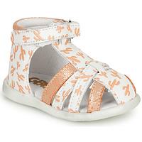 Chaussures Fille Sandales et Nu-pieds GBB AGRIPINE Orange