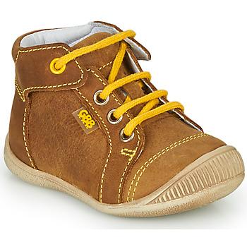 Chaussures Garçon Baskets montantes GBB PARGA Marron